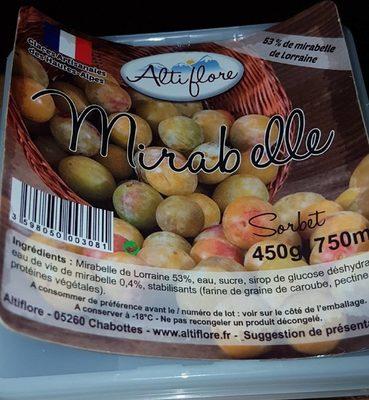 Sorbet mirabelle - Produit - fr