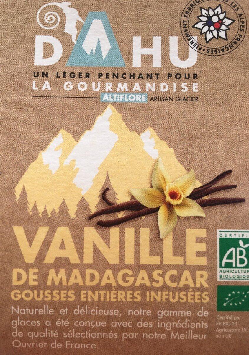 Glace vanille de madagascar Dahu - Produit - fr