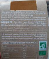Glace café - Dahu - Ingrédients - fr