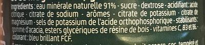 Isotonic Drink - Ingrédients - fr
