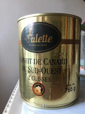 Confit de canard du Sud Ouest - Product - fr