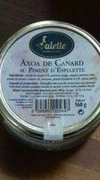 Axoa de canard - Product - fr