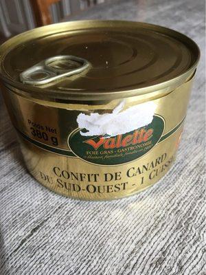 Confit de Canard du Sud-Ouest -1 Cuisse - Product - fr