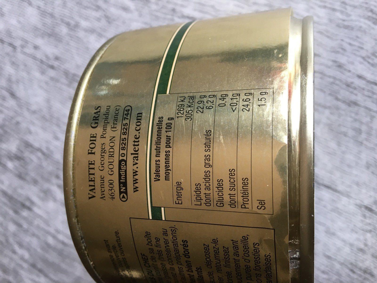 Confit de Canard du Sud-Ouest -1 Cuisse - Ingrediënten - fr