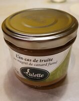 L'en-cas de truite au magret de canard - Prodotto - fr