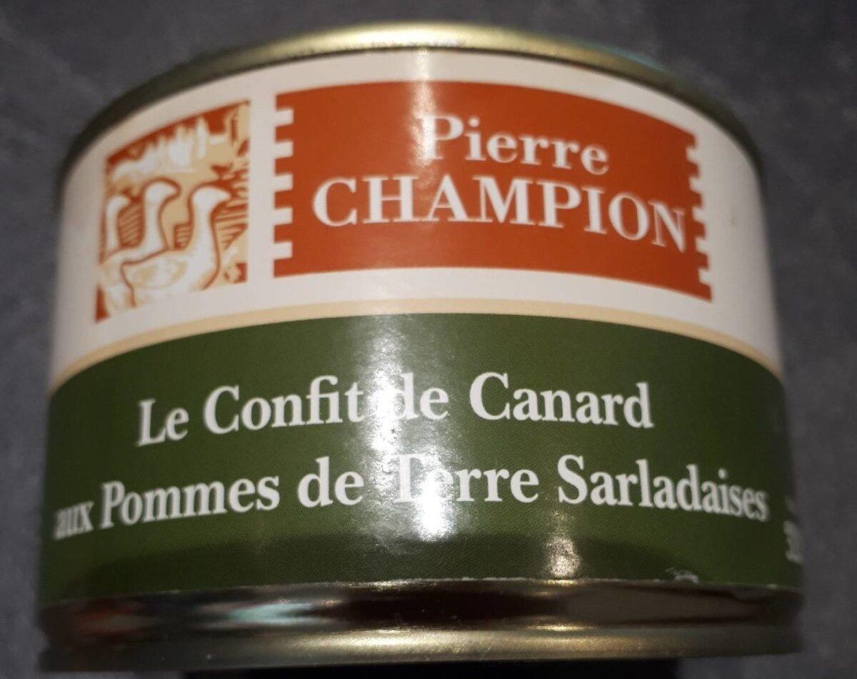 Le confit de canard aux pommes de terre  salardaises - Product - fr