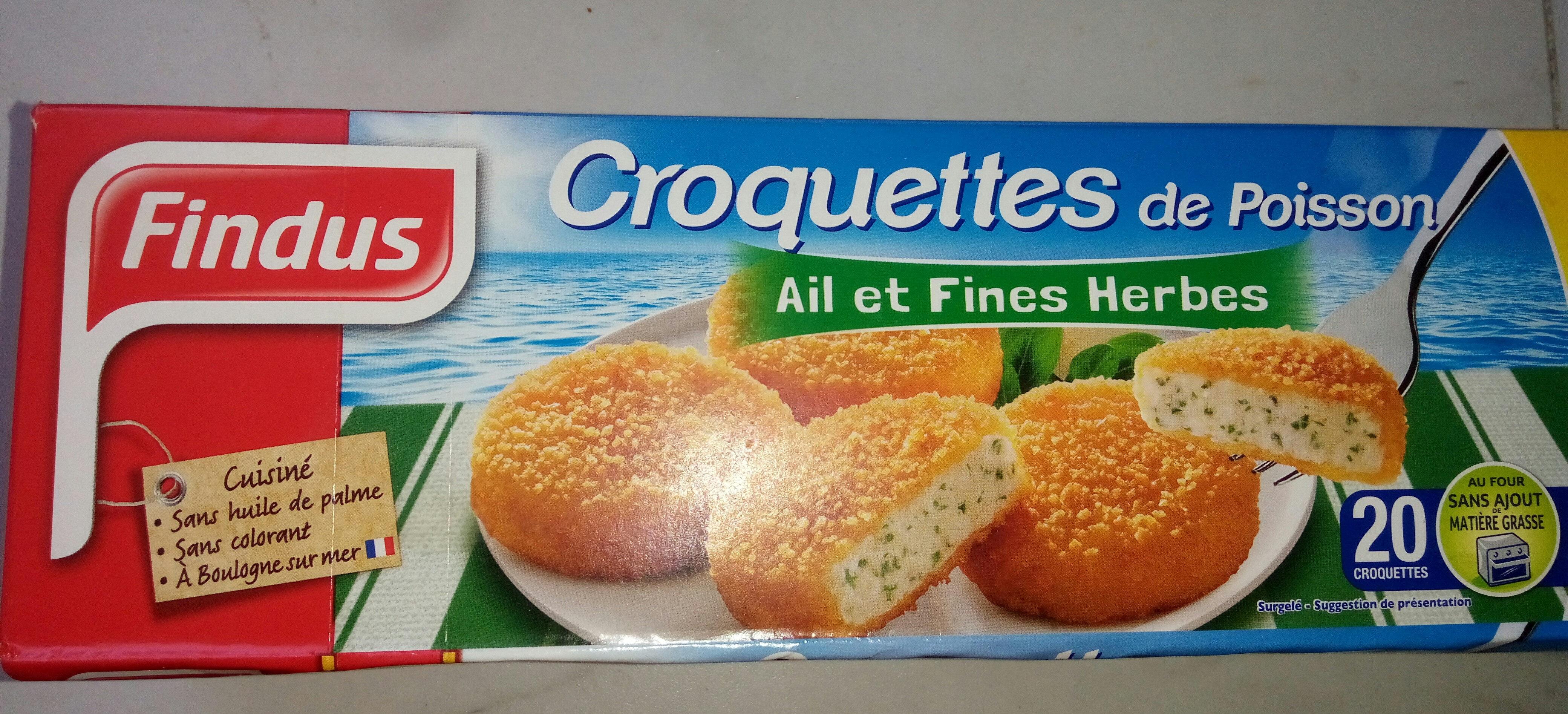 Croquettes Aux Fines Herbes, Surgelé - Product
