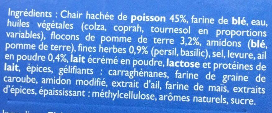 Croquettes Aux Fines Herbes, Surgelé - Ingrediënten