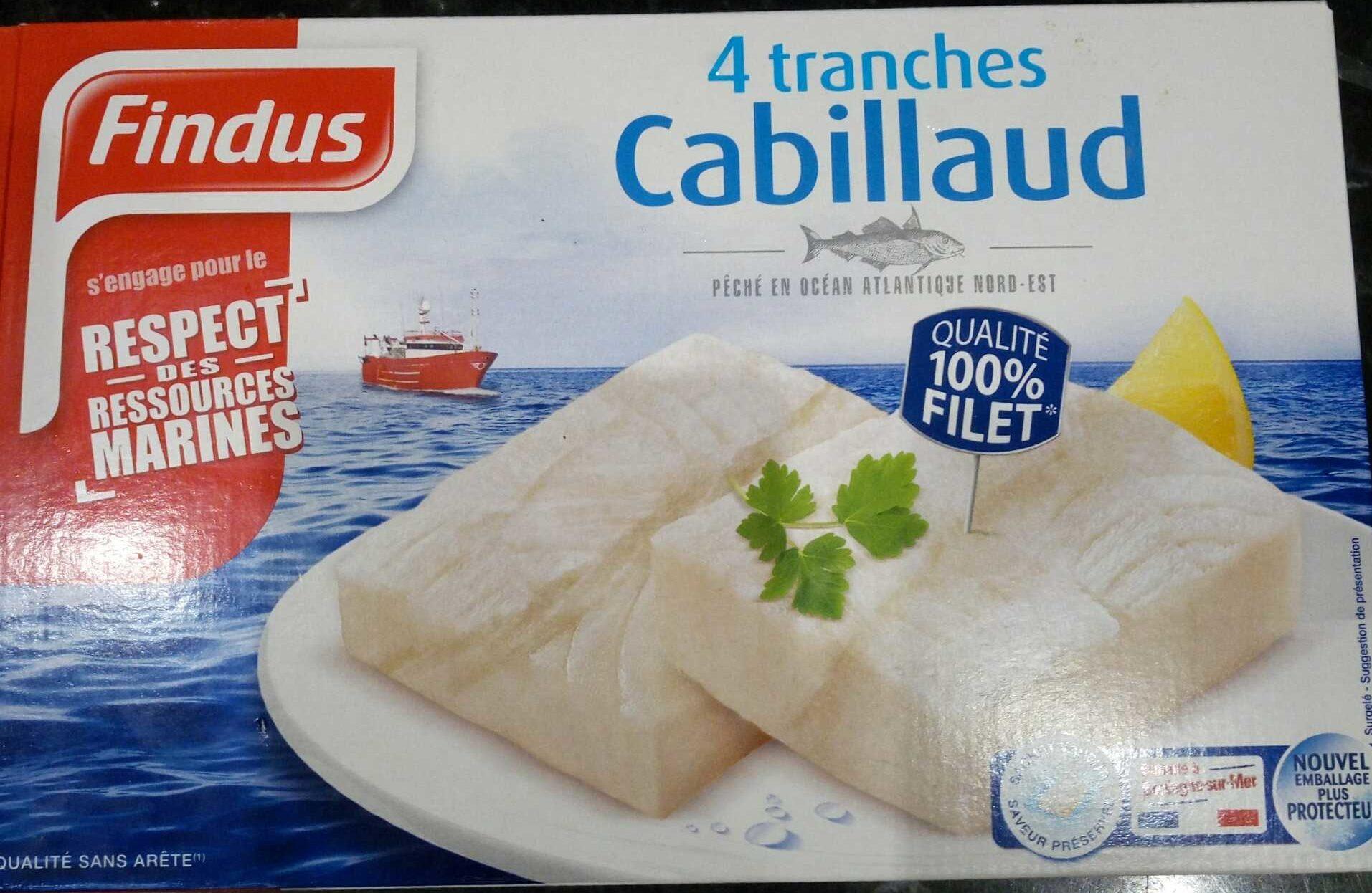 Tranches de Cabillaud - Produit - fr