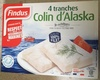 4 tranches Colin d'Alaska - Product