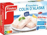 Tranches panées de Colin d'Alaska MSC - Product - fr