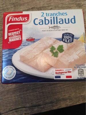 Filet de Cabillaud - Produit - fr