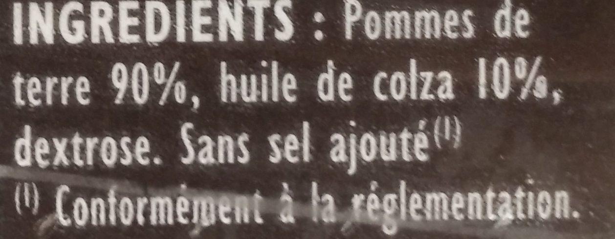 Crousti Express Les Rissolées - Ingrédients