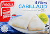 Cabillaud surgelé, 4 filets  - Product