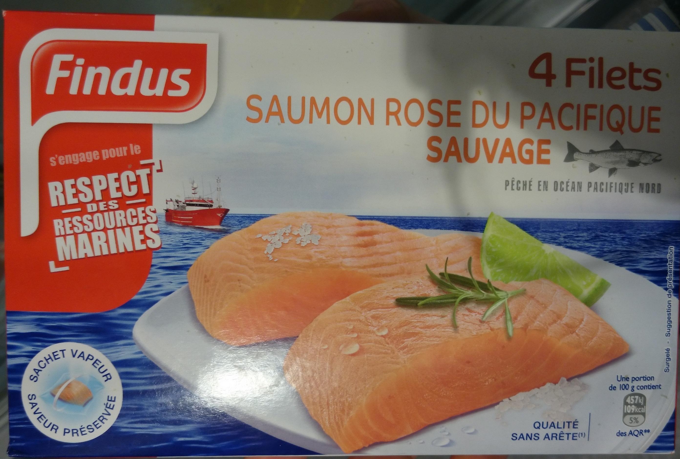 4 filets saumon rose du pacifique sauvage findus 400 g. Black Bedroom Furniture Sets. Home Design Ideas