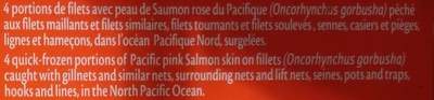 Filets de saumon - Ingredienti - fr