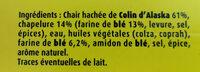 Croustibat Bâtonnet - Ingrédients - fr
