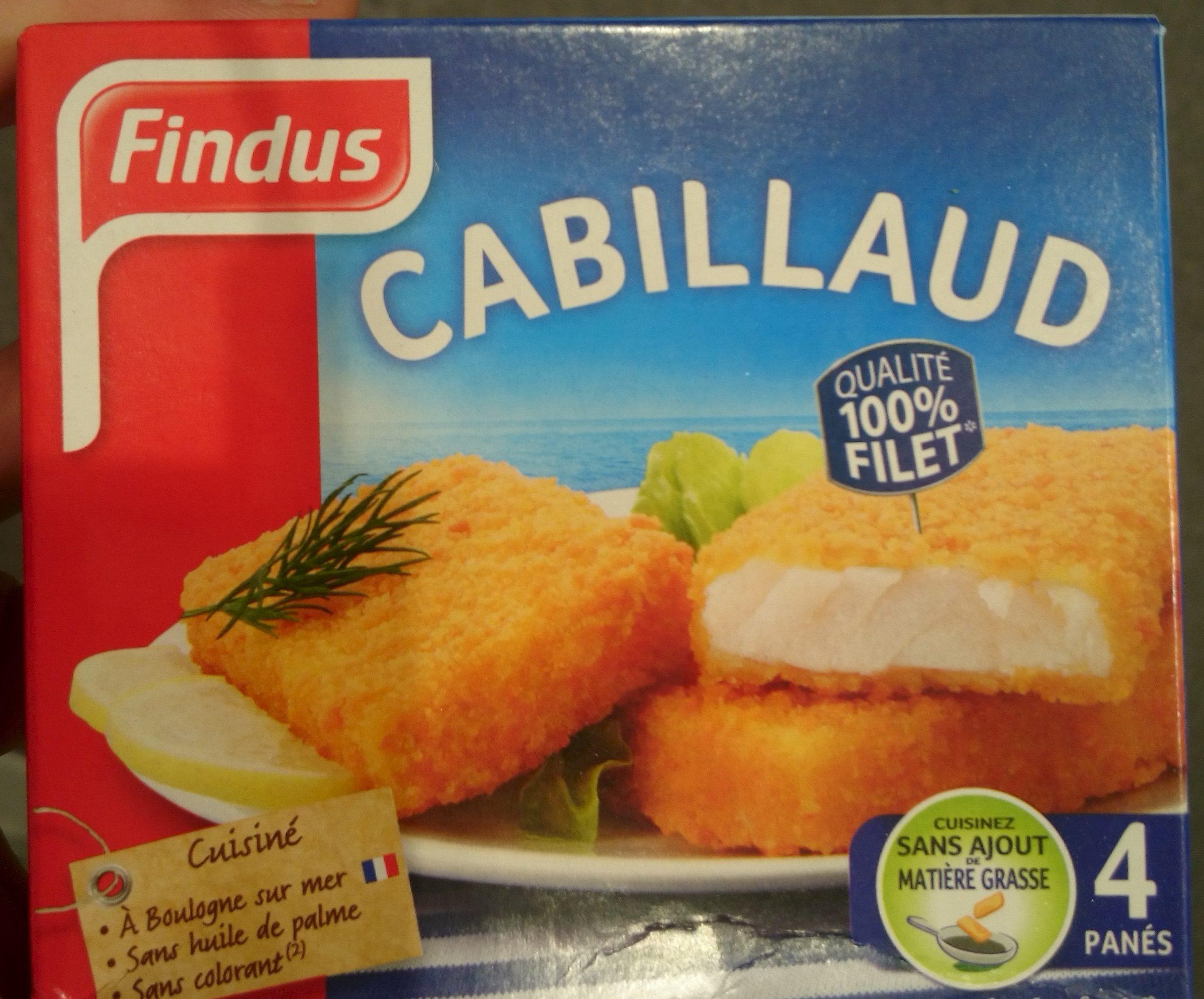 4 Tranches Panées de Cabillaud - Product - fr