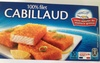 100 % filet cabillaud - Product