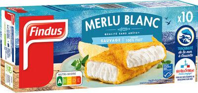 Tranches panées de Merlu blanc MSC - Produit - fr