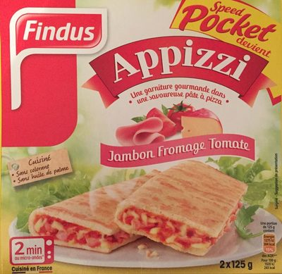 Appizzi Jambon Fromage Tomate - Product