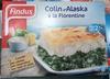 Colin d'Alaska à la Florentine, Surgelé - Product