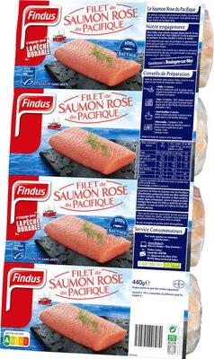 Filets de Saumon Rose du Pacifique MSC - Product - fr