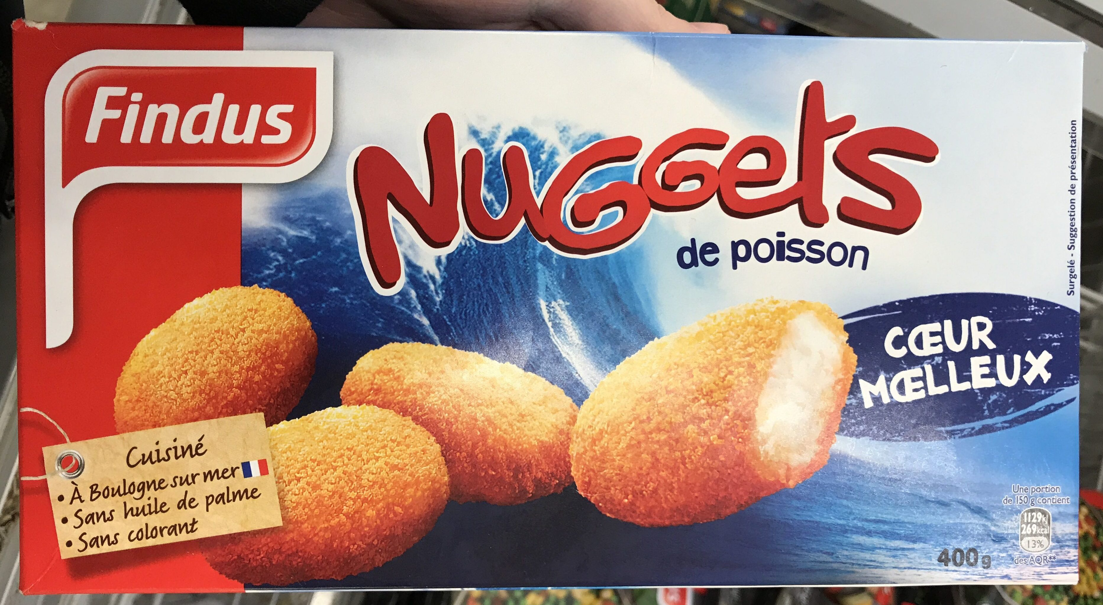 Nuggets de poisson - Product