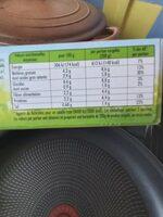 Épinards hachés à la crème - Nährwertangaben - fr