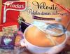 Velouté patates douces, aubergines et pointe de crème fraîche - Produit