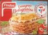 Lasagnes Bolognaise (Pur Bœuf), Surgelé - Product