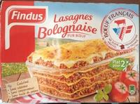 Lasagnes Bolognaise Pur Bœuf - Product