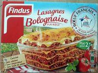 Lasagnes Bolognaise Pur Bœuf - Produit
