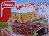 Moussaka (Pur Bœuf), Surgelé - Product - en