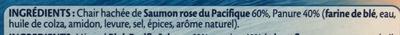 Croustibat Saumon Rose du Pacifique - Ingredienti - fr