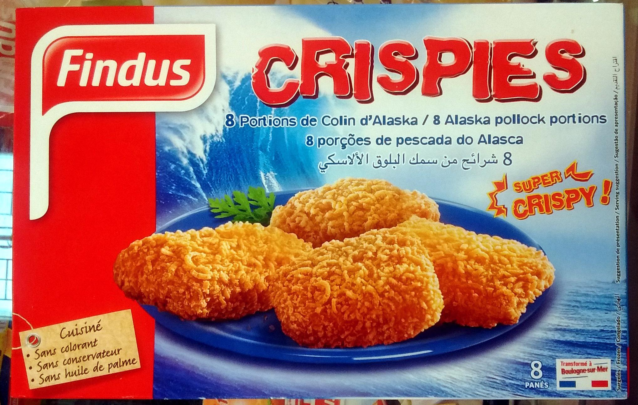 Crispies, 8 Portions de Colin d'Alaska - Product - fr