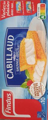 Cabillaud pané, qualité 100% filet - Product - fr