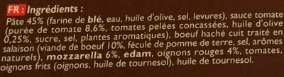 Bolognaise - Ingrediënten - fr