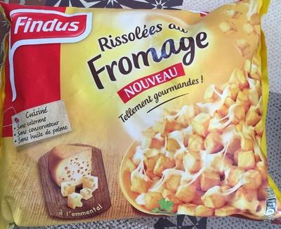 Pommes rissolées au fromage - Product