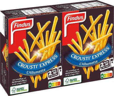 Frites Crousti' Expresse l'Allumette - Produit - fr