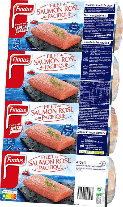 Filets Saumon rose du Pacifique MSC - Product - fr