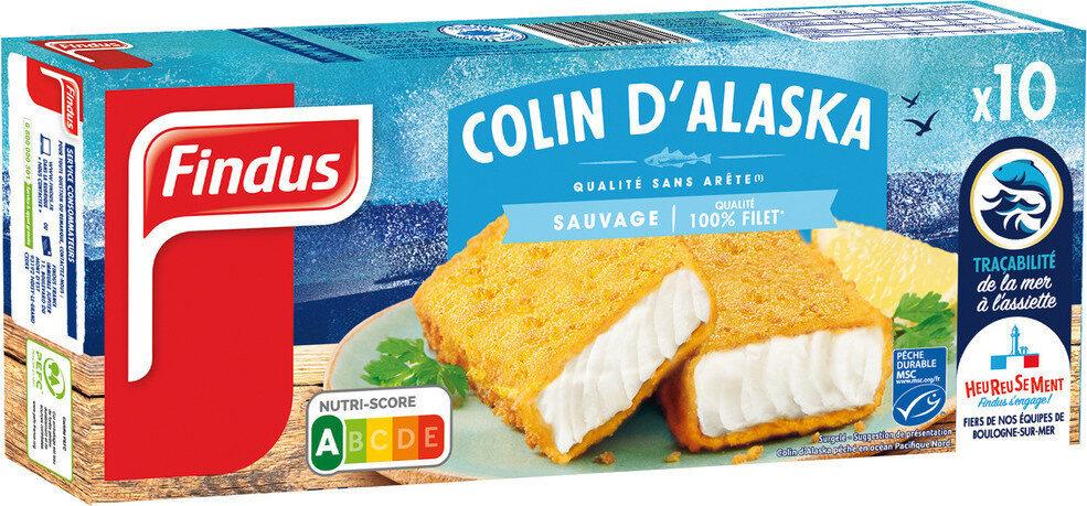 Tranches panées Colin d'Alaska MSC - Produit - fr