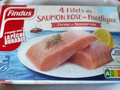 4 filets de saumon rose du Pacifique - Product - fr