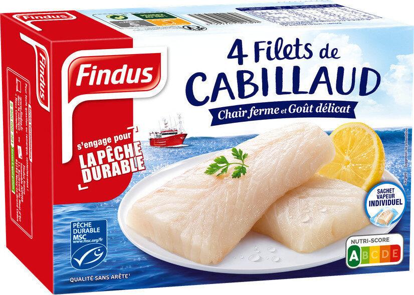 Filets de Cabillaud MSC - Produit - fr