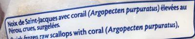 Noix de saint jacques avec corail findus 300 g - Cuisiner des noix de st jacques avec corail ...
