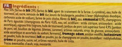 Speed Pocket à la Parisienne (édition limitée) - Ingrédients