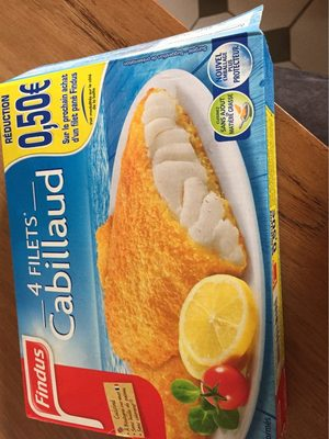 4 filets cabillaud - Product