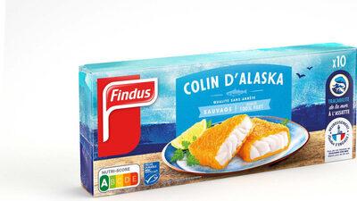 Tranches Panées de Colin d'Alaska - Produit - fr
