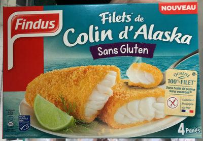 Filet de Colin d'Alaska sans Gluten - Produit