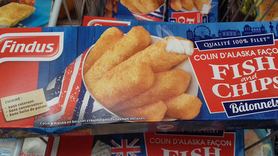 Bâtonnets Façon Fish And Chips - Product